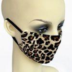 animal print mask 1 - side