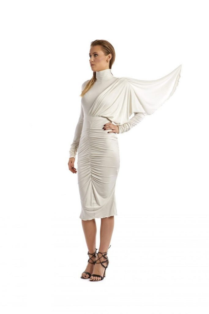 Camilla jersey dress