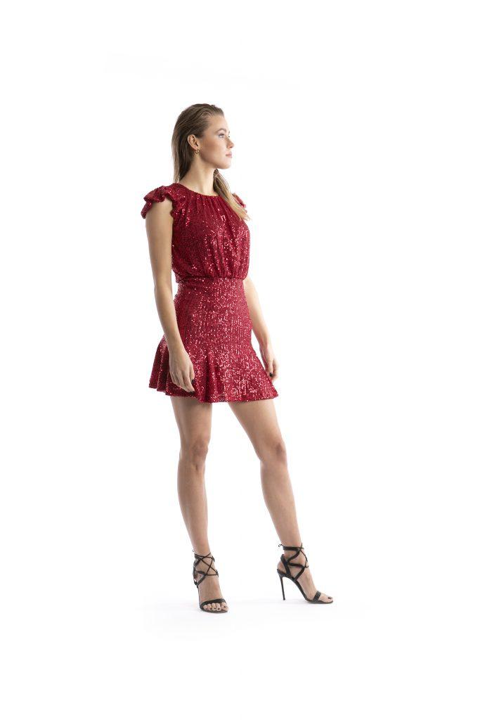 Clizia sequined dress