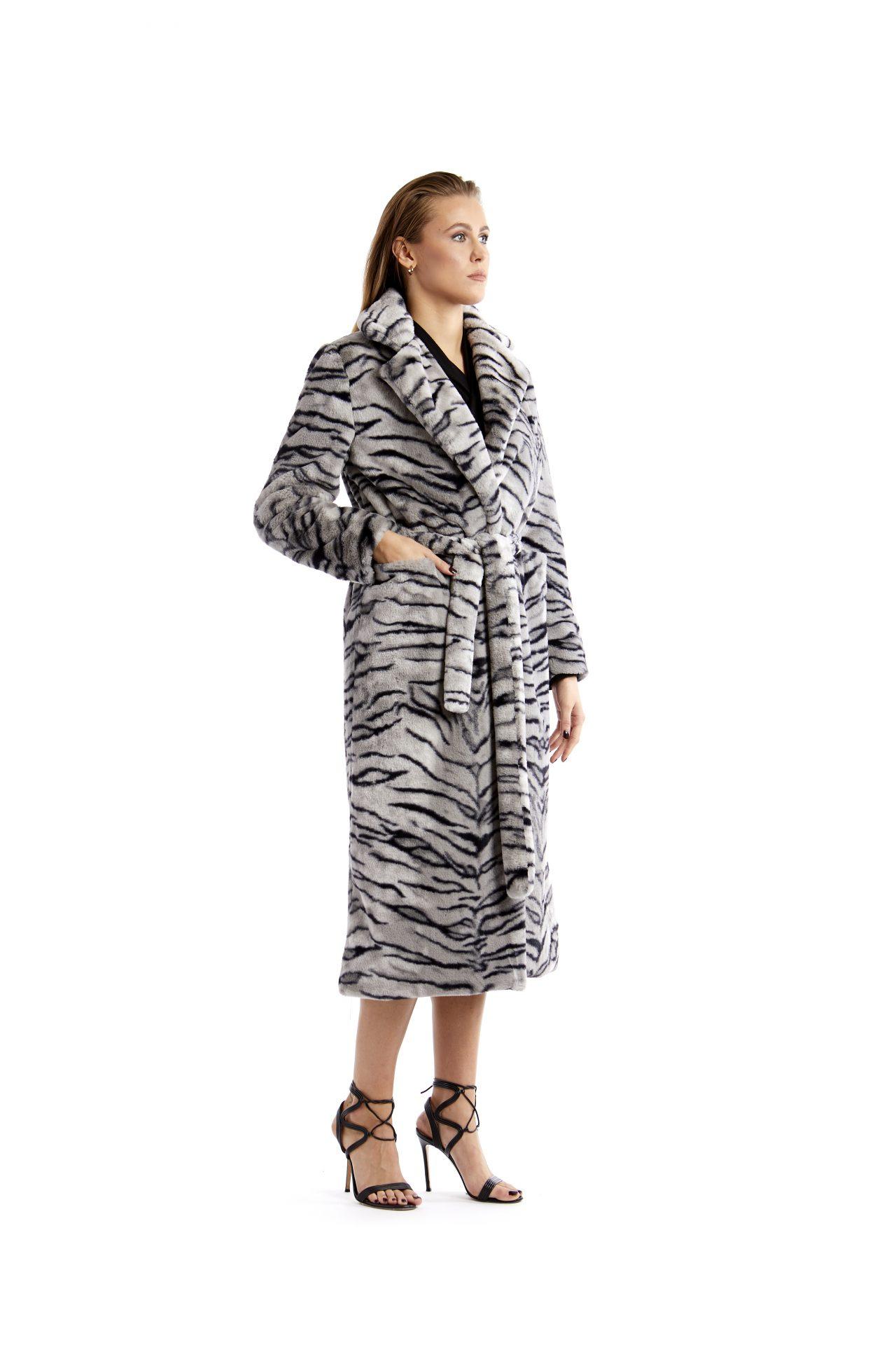 Sofia zebrata bianca e nera