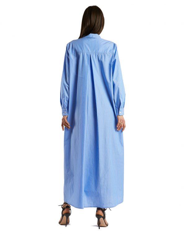 Laura light blue - back